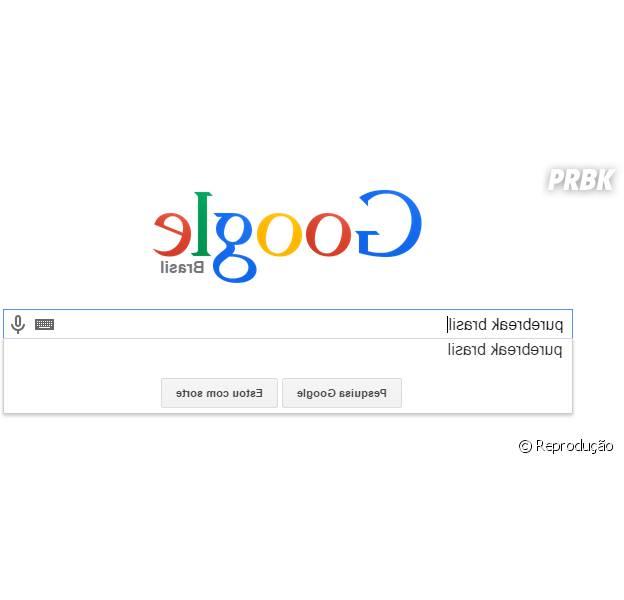 Google Invertido é lançado para celebrar o dia da mentira e zoar os seus amigos!
