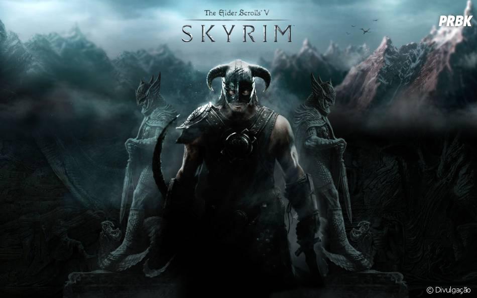 """""""Elder Scrolls: Skyrim"""" foi vencedor do jogo do ano em 2011 superando """"Batman Arkham City"""""""