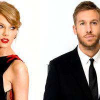 Taylor Swift e Calvin Harris são flagrados de mãos dadas em show da banda Haim