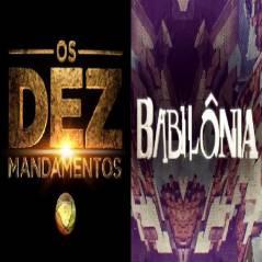 """Duelo: """"Babilônia"""" ou """"Os Dez Mandamentos""""? Da Globo ou da Record, qual a melhor novela do momento?"""