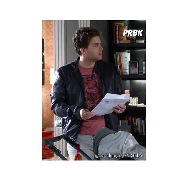 """Niko (Thiago Fragoso) descobrirá que é o pai de Fabrício em """"Amor à Vida""""!"""