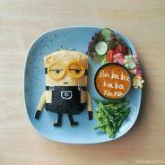 Hora de lanche: Batman, Minions, Malévola e outros personagens que viraram prato de comida!