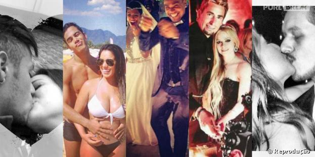 2013 foi o ano de muitas uniões comoBruna Marquezine e Neymar,Micael Borges eHeloisy Oliveira e o casamento deNaldo e Moranguinho
