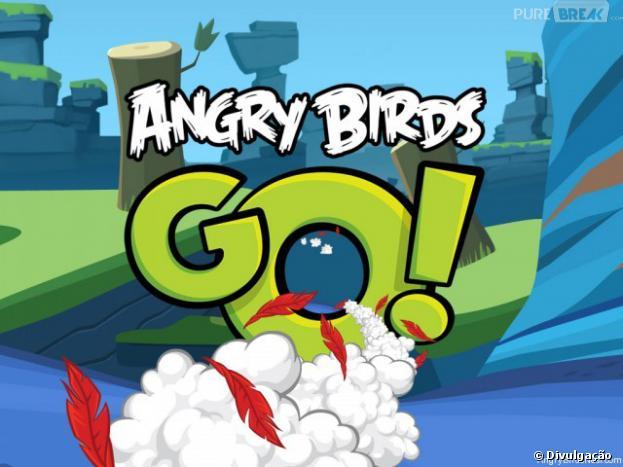Poucas são as imagens de divulgação de Angry Birds Go!