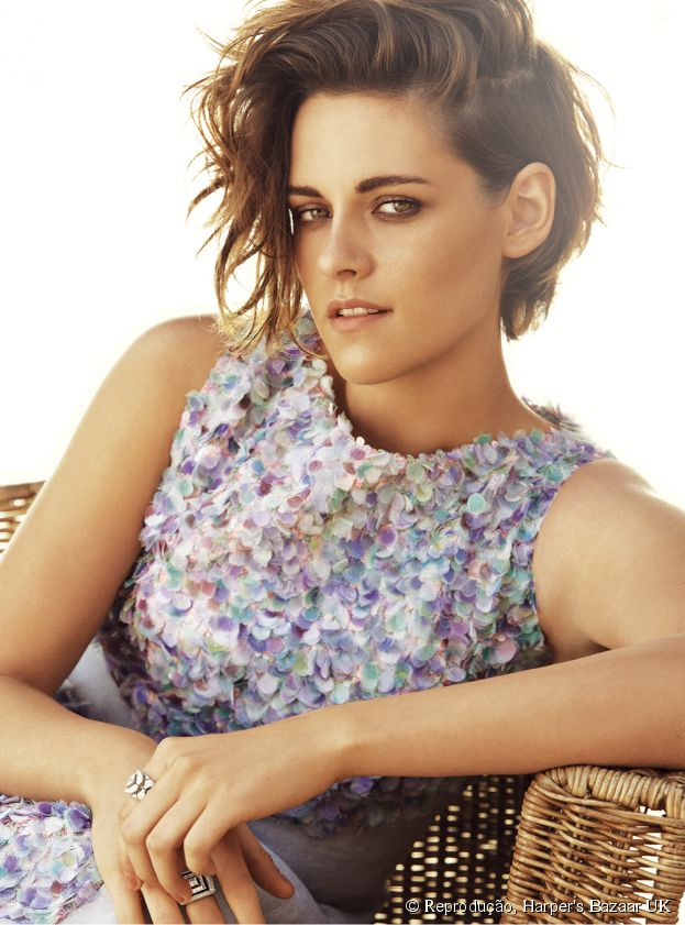 "Kristen Stewart abre o jogo sobre suas cenas picantes com Robert Pattinson, na saga ""Crepúsculo"""