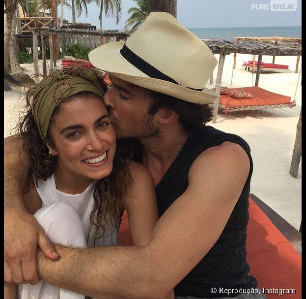 """Ian Somerhalder (""""The Vampire Diaries"""") e Nikki Reed passam a lua de mel no Rio de Janeiro e curtem muito!"""