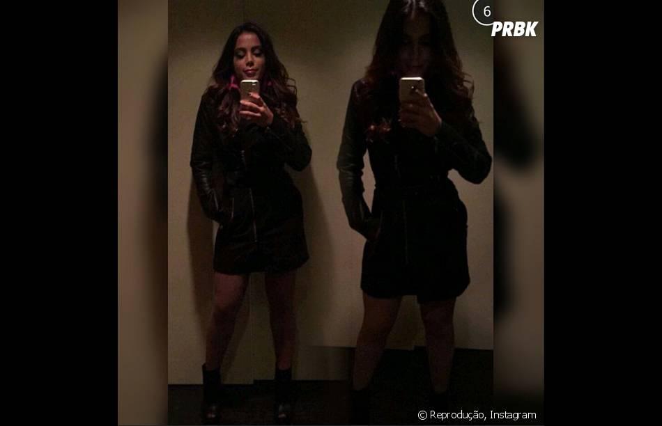 Anitta mostrou fotos de seu look no Japão