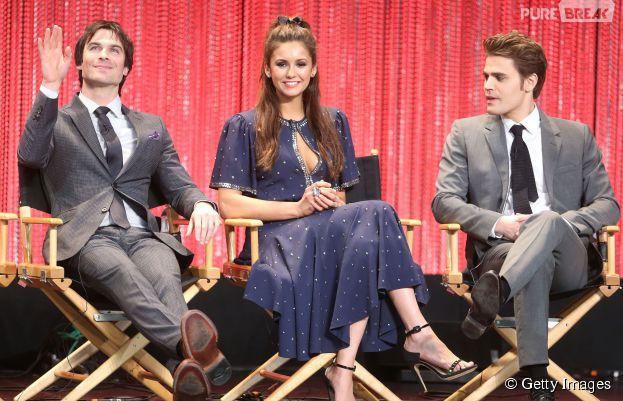 "Ian Somerhalder e Paul Wesley falaram como foi a despedida de ""The Vampire Diaries"""