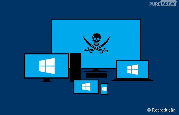 Microsoft confirma que Windows 10 não será gratuito para quem usa versão pirata do software!