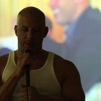 "Vin Diesel, de ""Velozes & Furiosos"", homenageia Paul Walker e canta ""Habits"", da cantora Tove Lo"