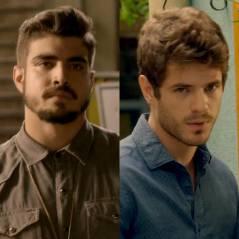 """Duelo """"I Love Paraisópolis"""": Grego (Caio Castro) ou Benjamin? Com quem Mari (Bruna Marquezine) fica?"""