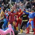 MEME: Olha aí os heróis da Marvel fazendo o Harlem Shake