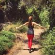 Pertinho da natureza, Giovanna Lancellotti aproveitou a viagem à Califórnia