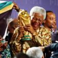 Em 2010, Nelson Mandela foi homenageada pela Fifa na Copa do Mundo da África do Sul