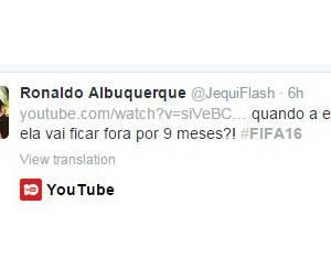Outros tuítes sobre Fifa 16 ofendem a gestação das mulheres