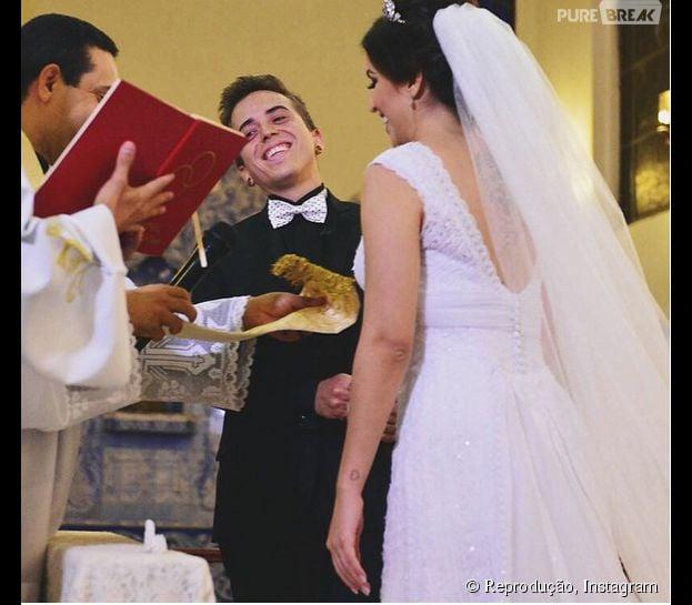 DH eBruna Unzueta casaram nesta quinta-feira (28) em São Paulo!