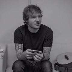 Ed Sheeran canta parte de música nova, que fala de maconha, durante show em Nova York, nos EUA