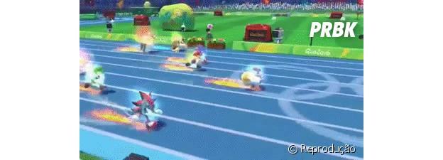 A competição entre Sonic e Mario sempre rola durante dos jogos Olímpicos, sejam os de inverno ou verão.