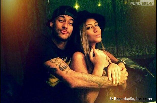Confira, na galeria, a tatuagem do rosto de Rafaella Santos no braço de Neymar Jr.