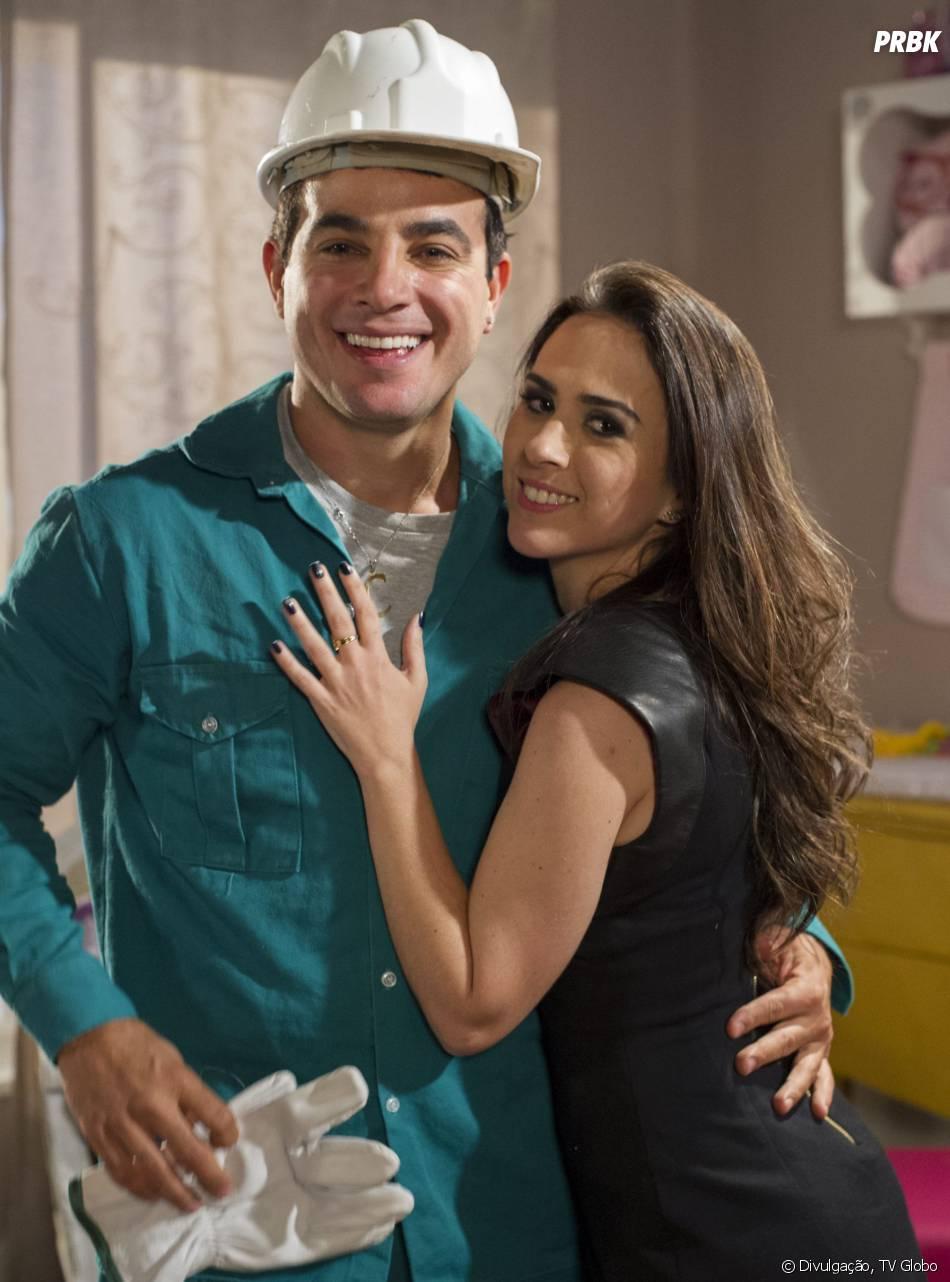 """Em """"Amor à Vida"""", Carlito (Anderson di Rizzi) vai ajudar Valdirene (Tatá Werneck) a entrar no """"BBB"""""""