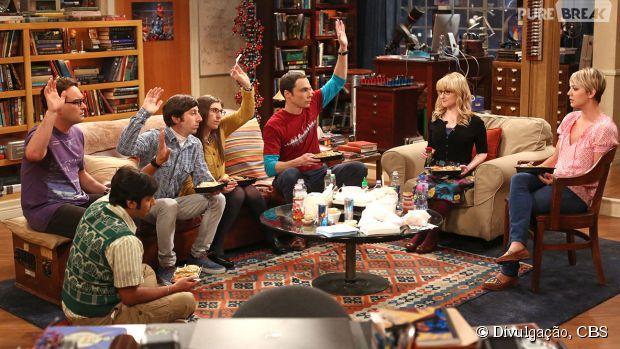 """A nona temporada de """"The Big Bang Theory"""" estreia na segunda-feira, dia 21 de setembro, e depois muda o dia de exibição"""