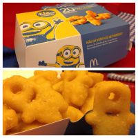Minions chegam ao McDonald's em formato de batata frita e brinquedo dos personagens!