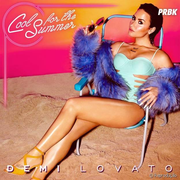 """Capa do single """"Cool For The Summer'"""", nova música da Demi Lovato, é divulgada"""