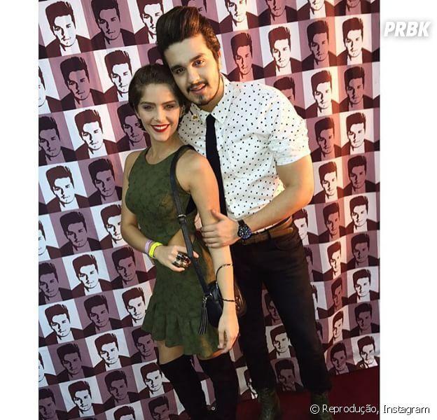 Isabella Santoni e Luan Santana juntos numa só foto