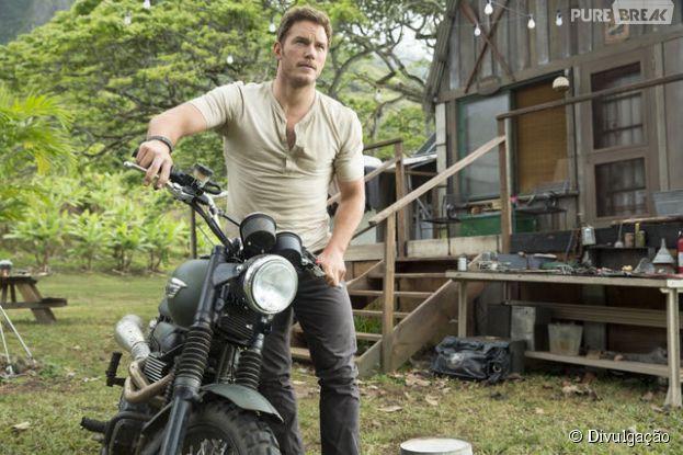 """Chris Pratt estrela """"Jurassic World"""", novo filme da franquia de """"O Parque dos Dinossauros"""""""