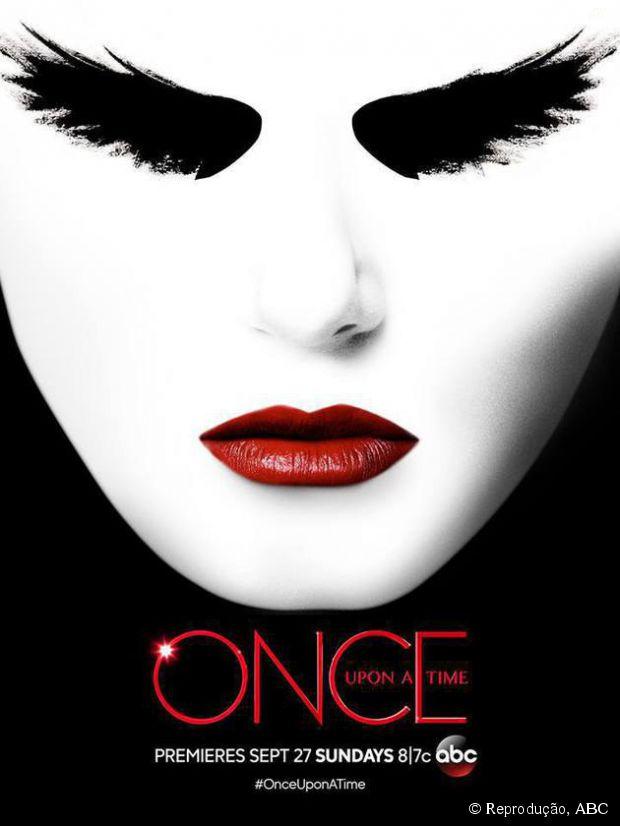 """Pôster macabro da 5ª temporada de """"Once Upon a Time"""" mostra a nova Senhora das Trevas"""
