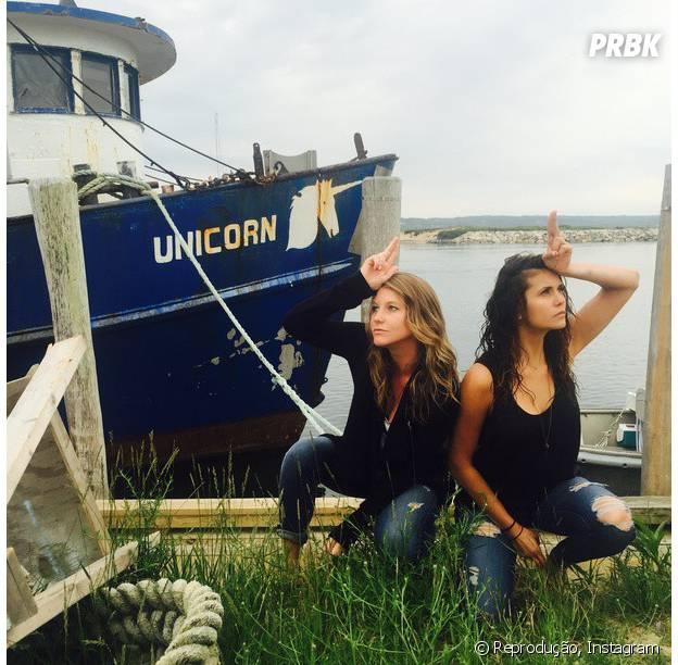 """Após sair de """"The Vampire Diaries', Nina Dobrev, a eterna Elena, faz zoeira no Instagram"""