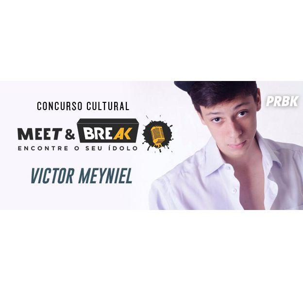 Victor Meyniel é o convidado do Meet & Break do Purebreak, no dia 21 de julho