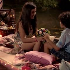 """De """"Carrossel - O Filme"""": Valéria (Maisa Silva) e Davi aparecem no maior clima de romance!"""