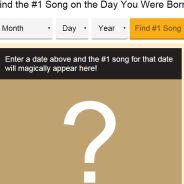 Descubra a música que tocava em 1º lugar nas rádios do mundo no dia do seu nascimento!