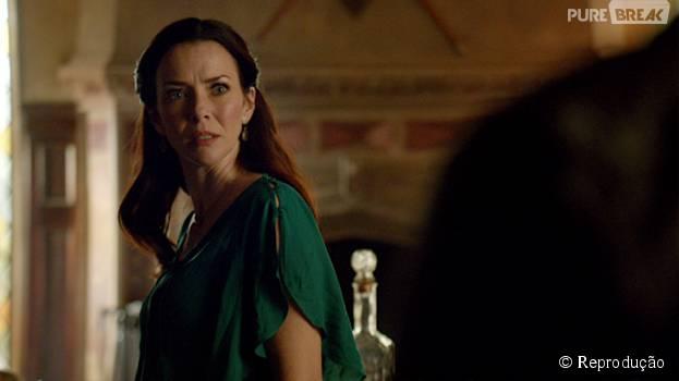 """As novas personagens fazem parte do grupo de hereges de Lily (Annie Wersching) em """"The Vampire Diaries"""""""