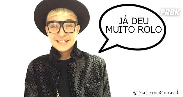 """MC Gui, chamado de Justin Bieber brasileiro, diz que comparações já """"deram muito rolo"""""""