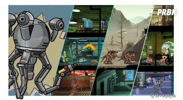 "O robôzinho Mr. Hardy vai marcar presença em ""Fallout Shelter"""