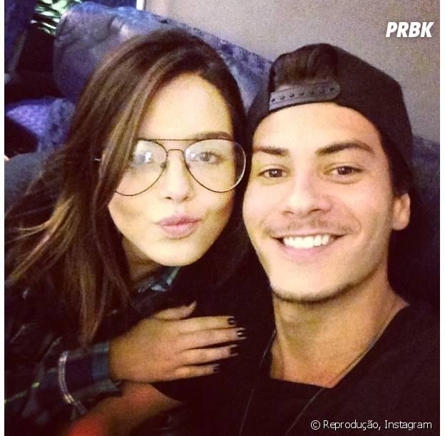 Giovanna Lancellotti e Arthur Aguiar namoraram durante um ano
