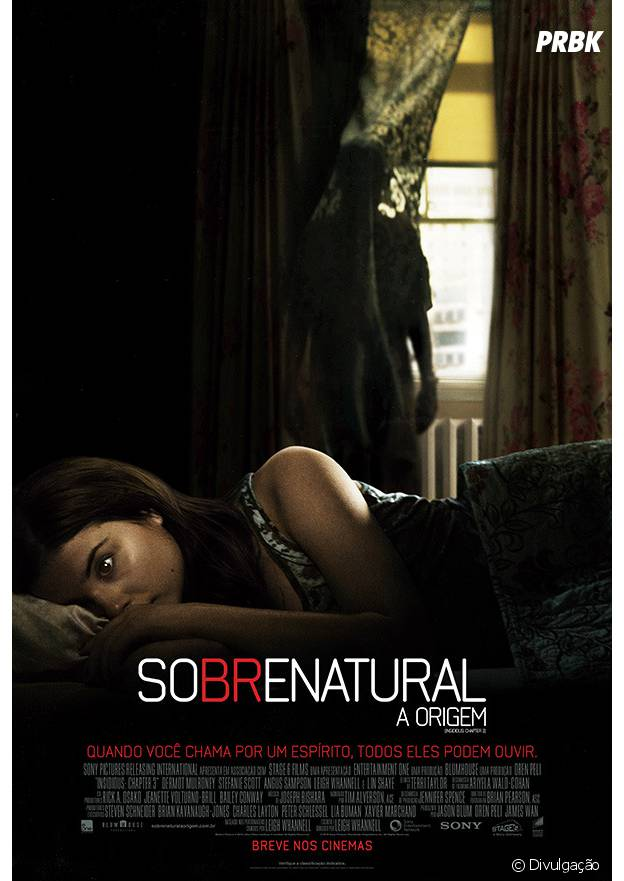 """Poster de """"Sobrenatural: A Origem"""""""