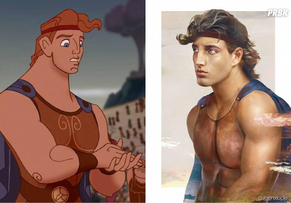 Qual Versao Dos Personagens Da Disney Voce Prefere Hercules