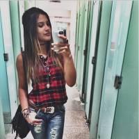 """Novela """"Malhação"""": Giulia Costa, filha de Flávia Alessandra, mostra como compõe seu estilo arrasador"""