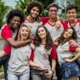 """Lívian Aragão vai estudar com Francisco Vitti estudar na Dom Fernão em """"Malhação"""""""