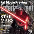 """""""Star Wars VII: O Despertar da Força"""" é a capa da próxima edição da Entertainment Weekly"""