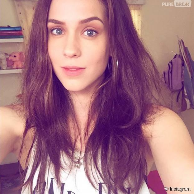 Sophia Abrahão surpreende e aparece morena em foto no Instagram