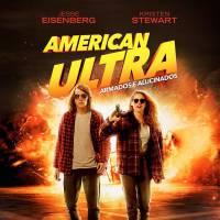 "Kristen Stewart e Jesse Eisenberg aparecem chapadíssimos em novo pôster de ""American Ultra"""