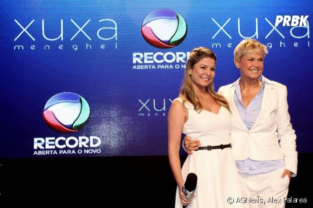 Programa de Xuxa na Record terá versão online sob comanda da ex-paquita Bárbara Borges