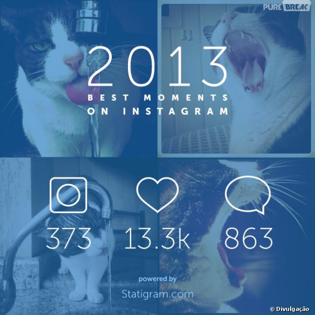 Retrospectiva 2013: Statigram faz um vídeo com suas fotos mais curtidas no Instagram