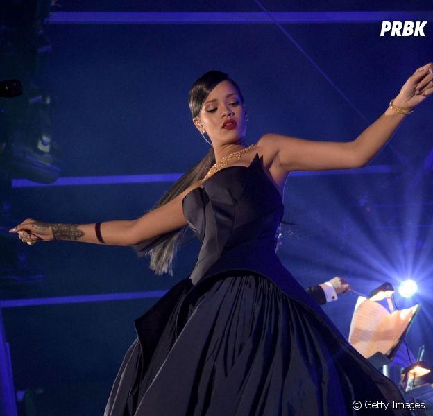 Rihanna fez sucesso no seu primeiro Diamond Ball!