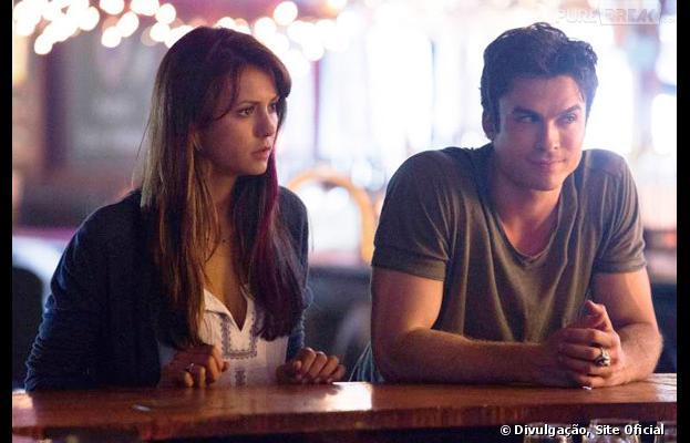 Elena (Nina Dobrev) e Damon (Ian Somerhalder) conseguirão viver seu amor?
