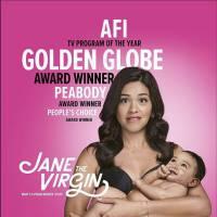 """Em """"Jane The Virgin"""": na 2ª temporada, veja novo pôster com o bebê da protagonista!"""